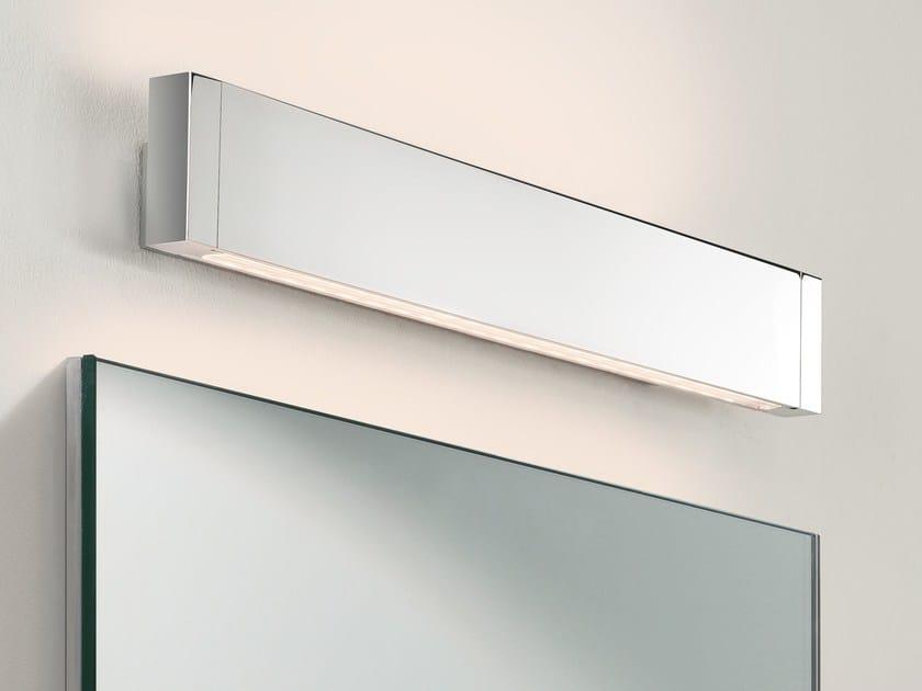 LED aluminium wall lamp for bathroom BERGAMO by Astro Lighting