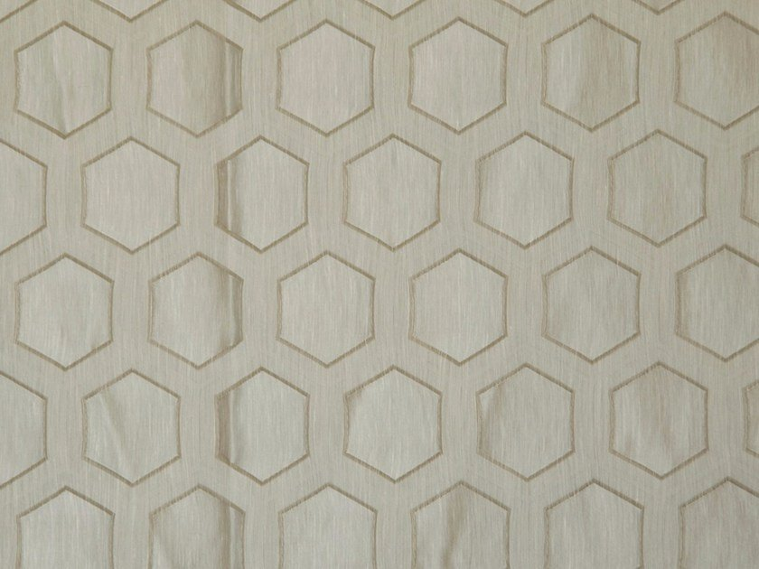 Fabric with geometric pattern BESIDE FR by Aldeco