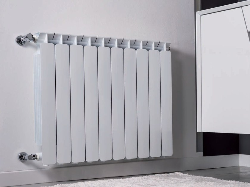 Hot-water wall-mounted die cast aluminium decorative radiator BEST - Radiatori2000