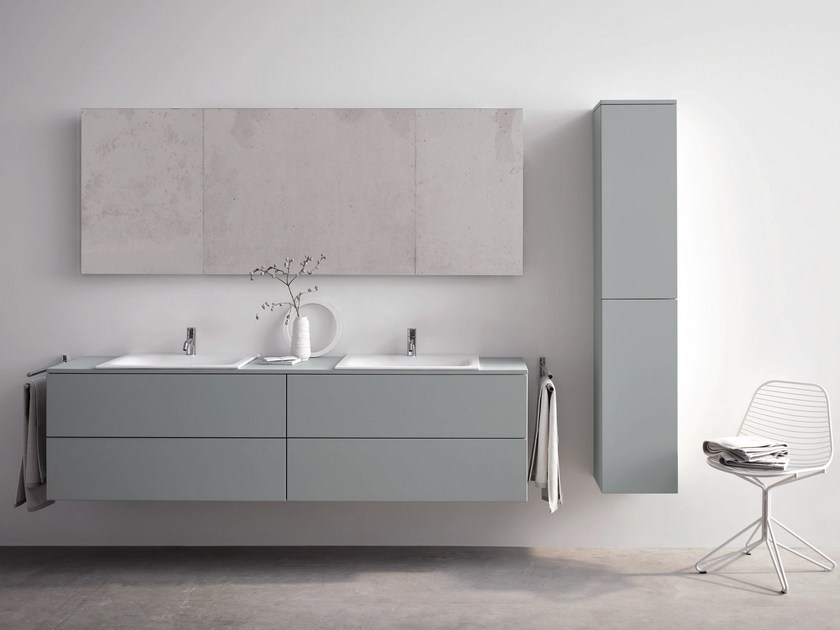Double wall-mounted vanity unit BETTEMODULES | Double vanity unit - Bette