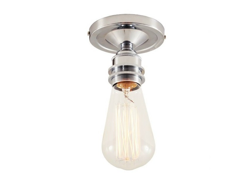 Direct light handmade ceiling lamp BEXTER VINTAGE FLUSH CEILING LIGHT - Mullan Lighting