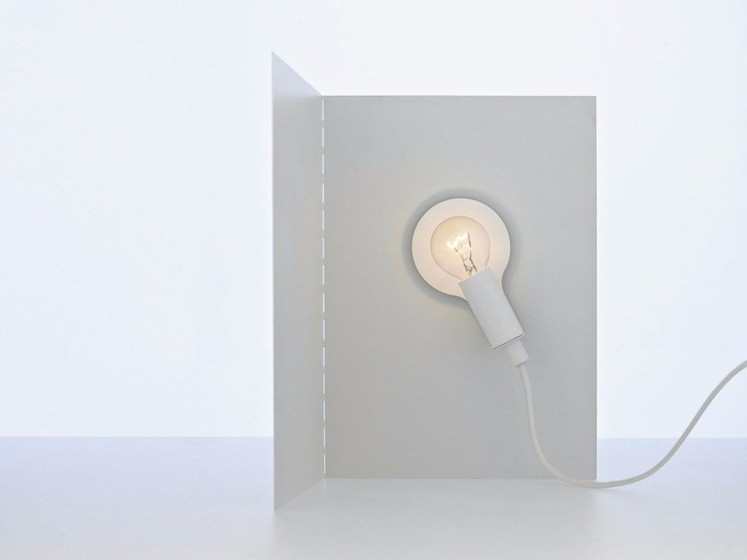 Halogen metal table lamp with dimmer BIANCA - DAVIDE GROPPI