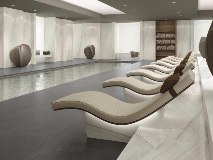 Indoor porcelain stoneware wall tiles with marble effect BIANCO LASA | Indoor wall tiles - FMG Fabbrica Marmi e Graniti