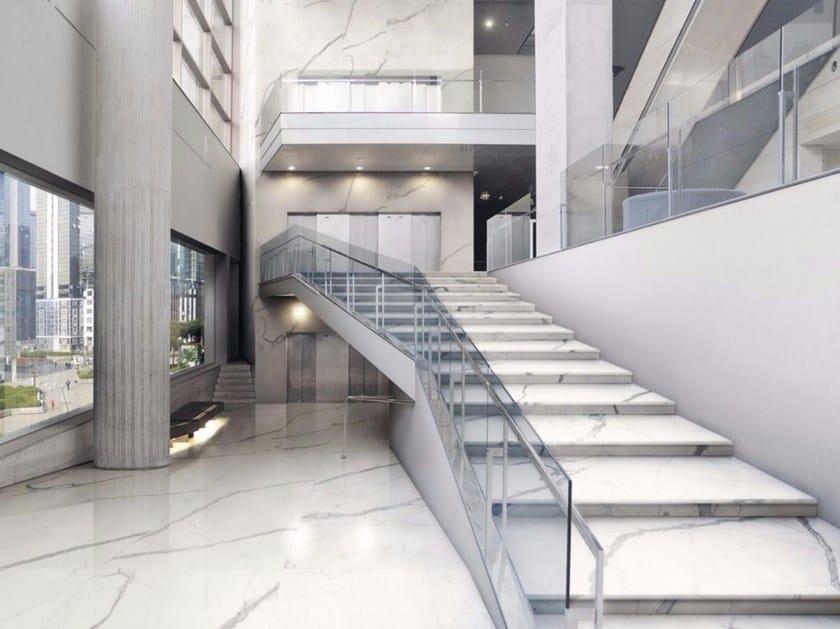 Pavimento/rivestimento effetto marmo BIANCO VENATO EXTRA | Pavimento/rivestimento - FMG Fabbrica Marmi e Graniti