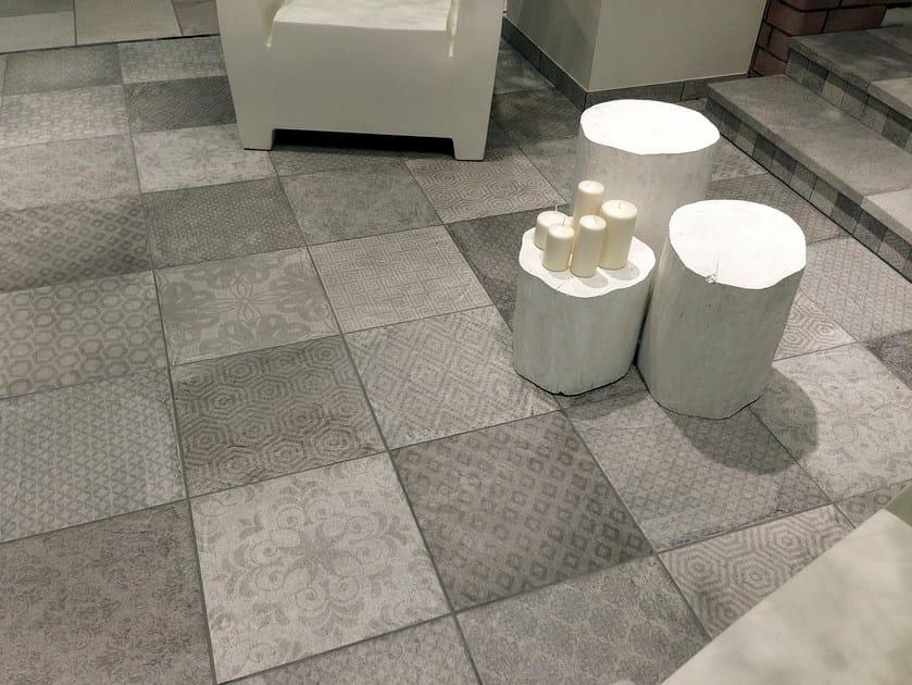 Glazed stoneware flooring BIARRITZ   Flooring - CIR