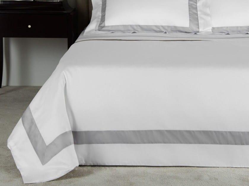 Cotton duvet cover BICOLORE | Duvet cover - Frette