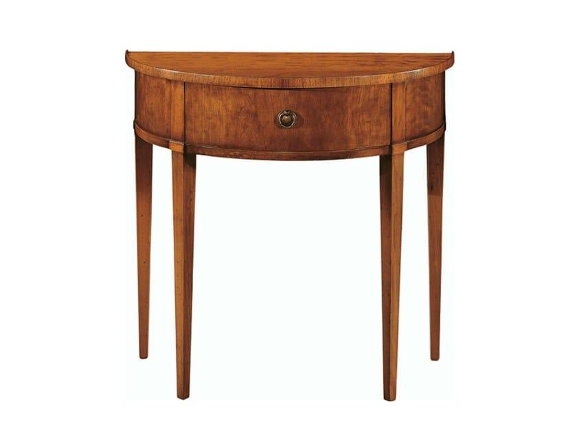 Demilune cherry wood console table BIEDERMEIER | Console table by Morelato