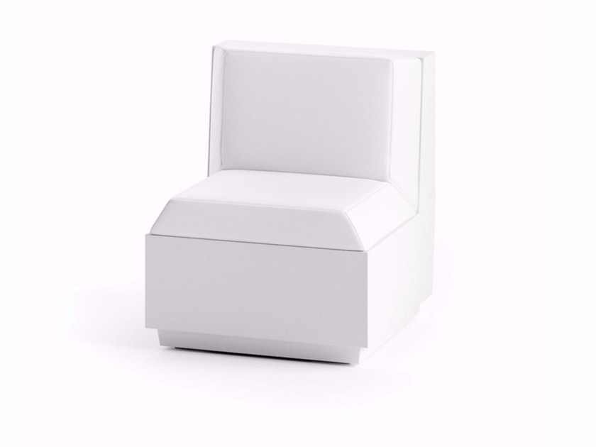 Modular garden armchair BIG CUT | Sectional armchair - PLUST Collection by euro3plast