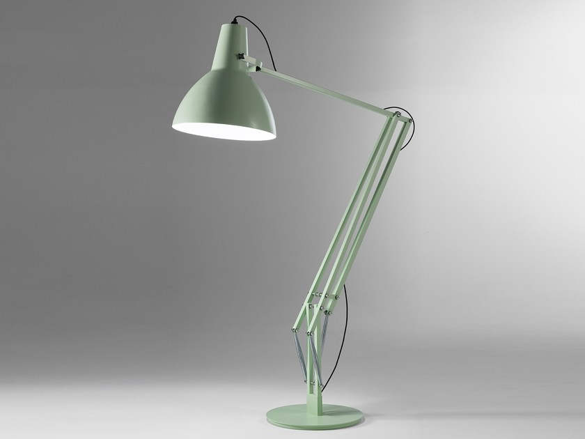 LED direct light adjustable thermo lacquered aluminium floor lamp BIG - Exporlux