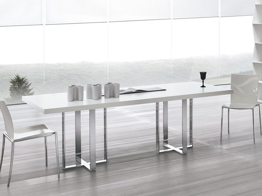 Rectangular wooden table BIG TABLE - ALIVAR