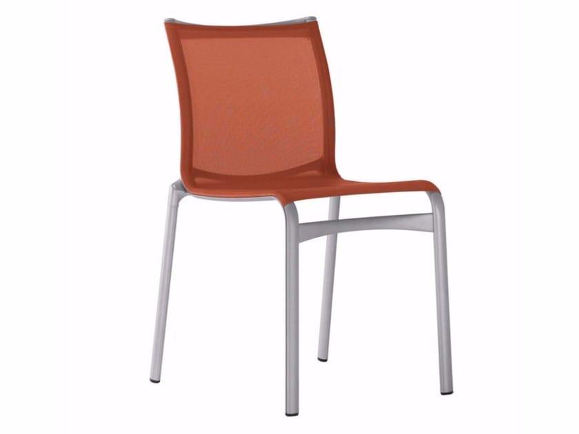 Stackable mesh chair BIGFRAME - 441_O by Alias