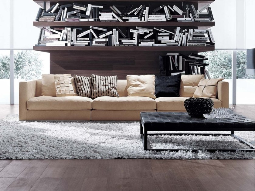 Sectional fabric sofa BILBAO | Fabric sofa by Frigerio Salotti