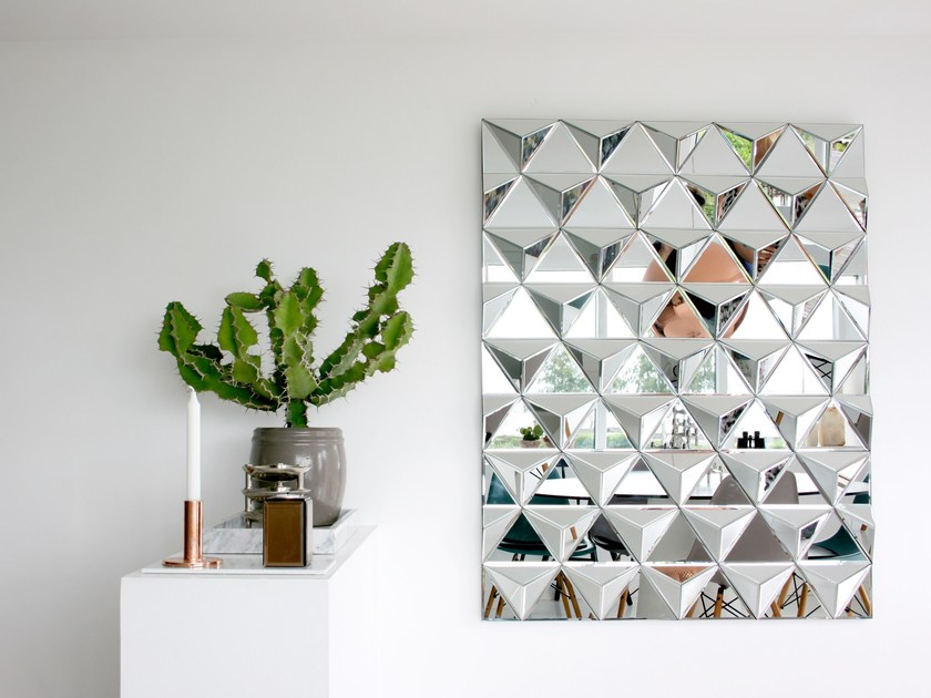 Rectangular wall-mounted mirror BILLION SQUARE - Reflections Copenhagen