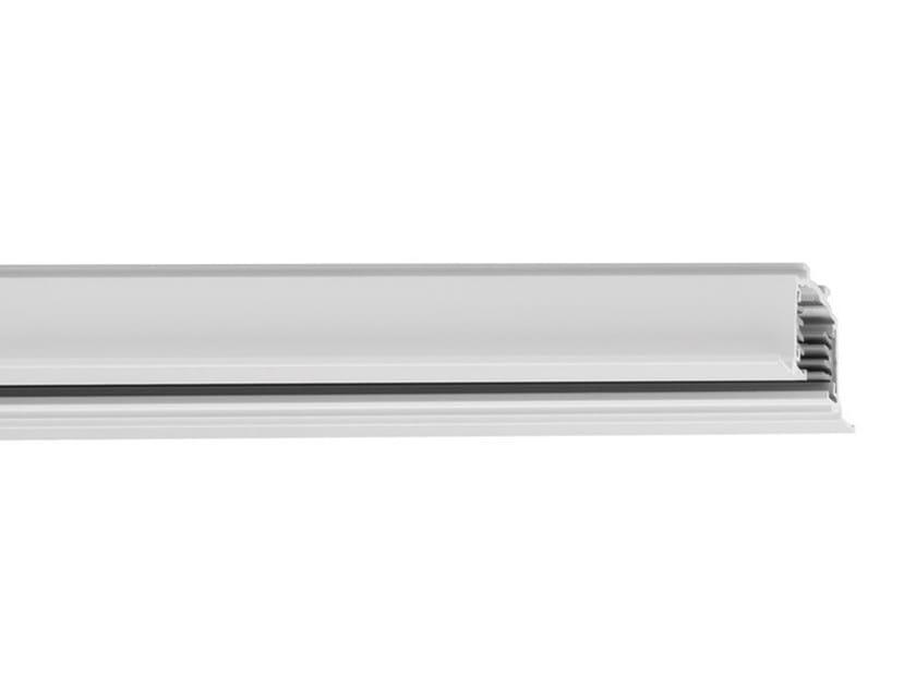 Recessed aluminium Track-Light BINARIO CONTROSOFFITTO by iGuzzini
