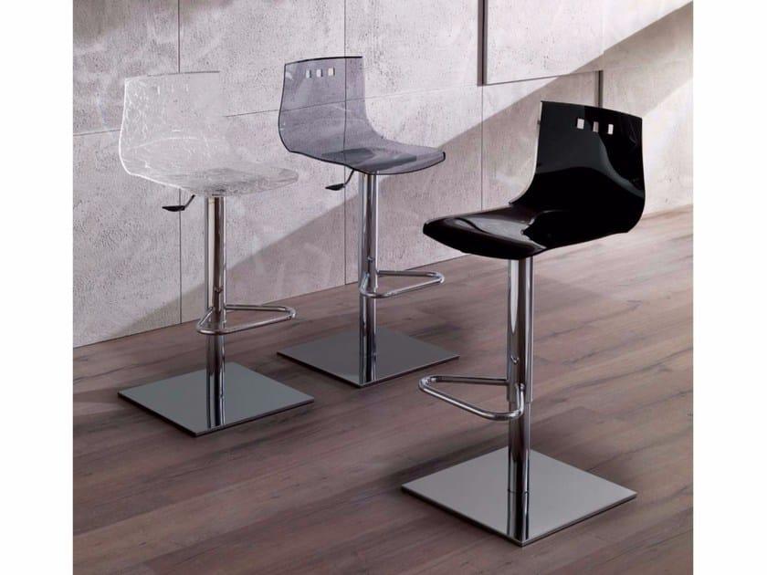 Height-adjustable Vitrex chair with footrest BINGO BASIC - Ozzio Italia