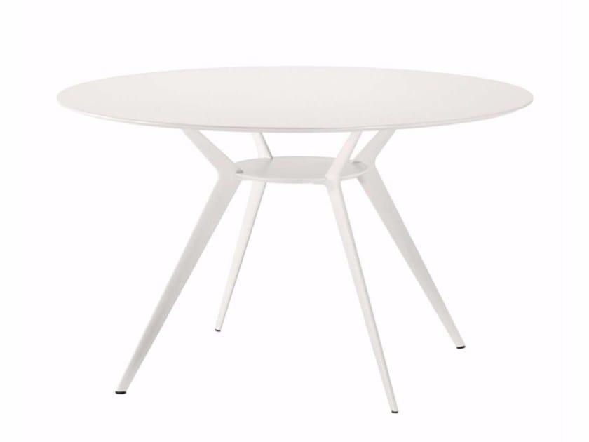 Round table BIPLANE Ø120 - 402_O - Alias