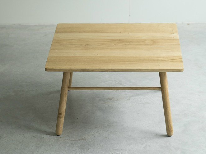 Square coffee table BI TABLE | Side table by Two Six