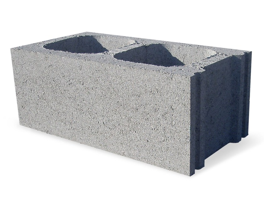 External masonry block in concrete BL 25 - M.v.b.