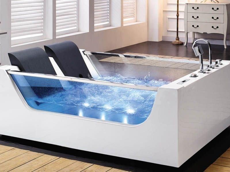 Whirlpool rectangular bathtub BL-502 | Whirlpool bathtub by Beauty Luxury