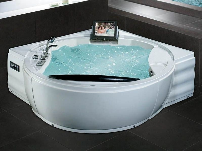 Corner whirlpool bathtub BL-508 | Whirlpool bathtub - Beauty Luxury