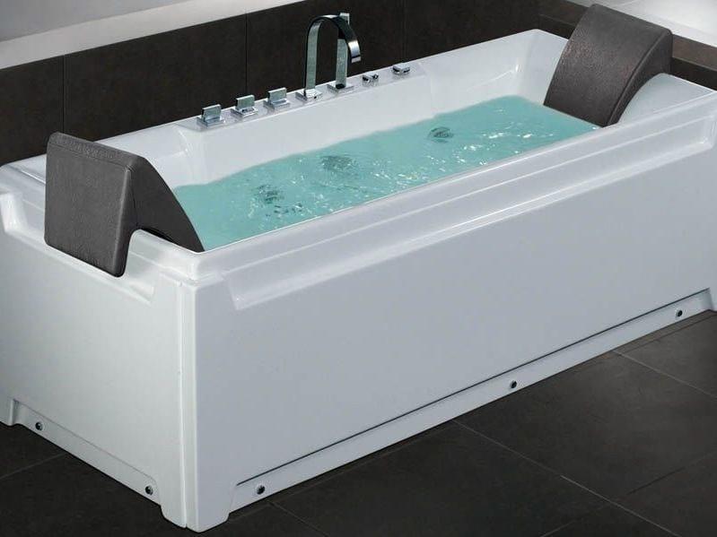 Whirlpool rectangular bathtub BL-511 | Whirlpool bathtub - Beauty Luxury