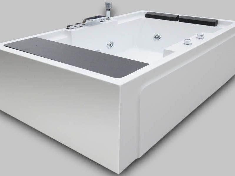Whirlpool rectangular bathtub BL-513 | Whirlpool bathtub - Beauty Luxury
