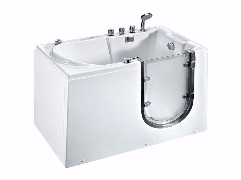 Whirlpool rectangular bathtub with door BL-532 | Whirlpool bathtub - Beauty Luxury