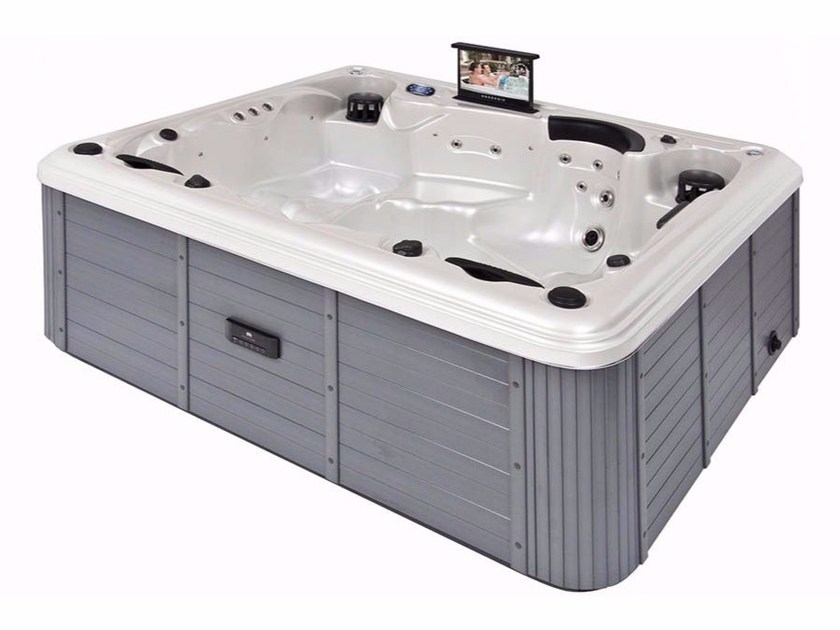 Built-in hydromassage hot tub 5-seats BL-872 | Hot tub 5-seats - Beauty Luxury