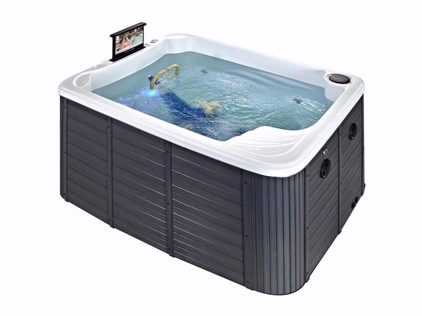 Hydromassage built-in hot tub 2-seats BL-899 FITNESS | Hot tub 2-seats - Beauty Luxury