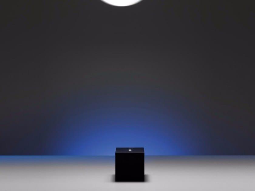 LED metal floor lamp BLACKBLOCK - DAVIDE GROPPI