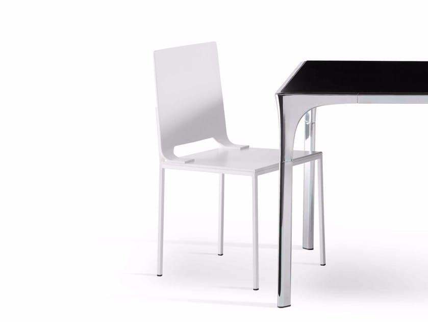Methacrylate chair BLANCA - Paolo Castelli