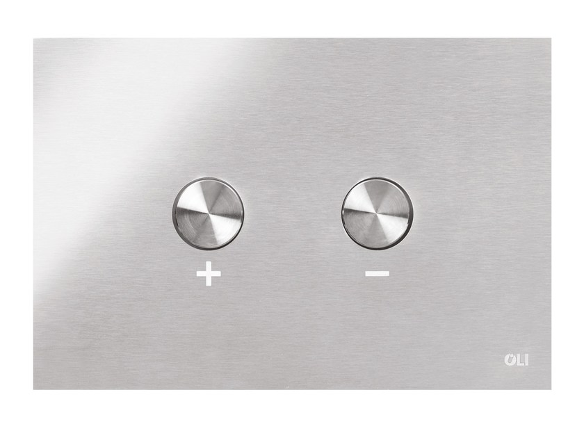 Stainless steel flush plate BLINK by OLI