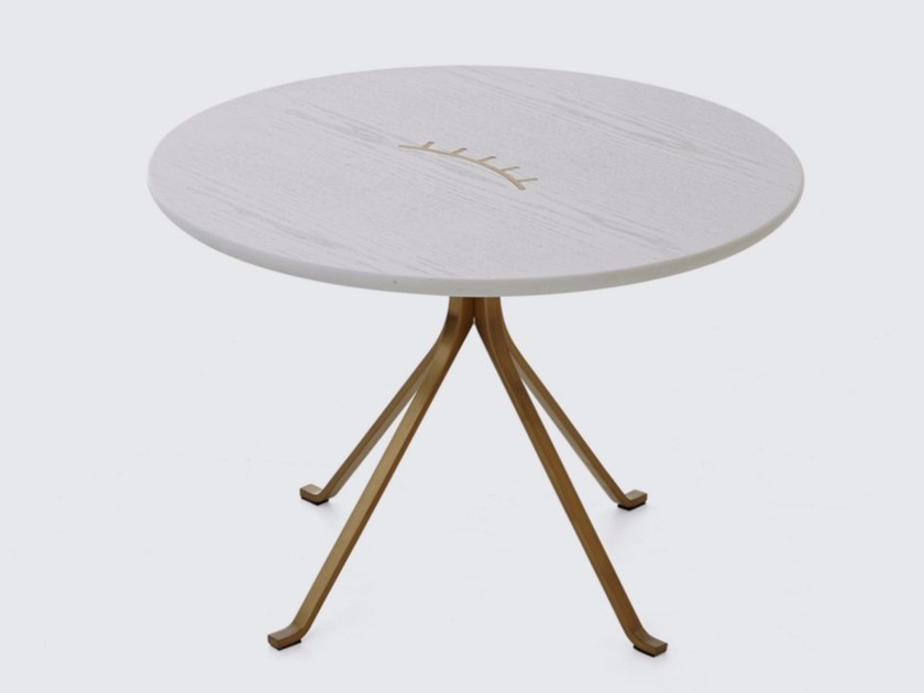 Round coffee table for living room BLINK SIDE TABLE - STELLAR WORKS