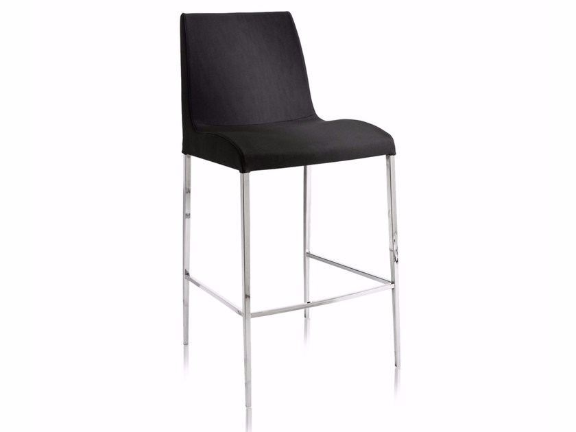 Contemporary style counter stool with fire retardant padding BLOOM M-SG - CHAIRS & MORE