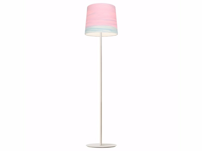 Handmade fabric floor lamp BLOSSOM | Floor lamp - Mammalampa