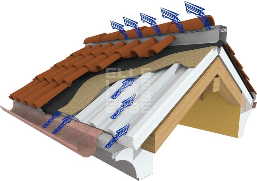 Sistema per tetto ventilato bluair elle esse for Montaggio velux costo