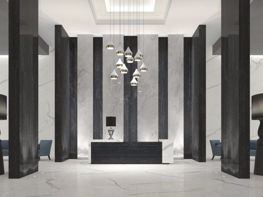 Porcelain stoneware wall/floor tiles with marble effect BLUE DE SAVOIE | Wall/floor tiles - FMG Fabbrica Marmi e Graniti
