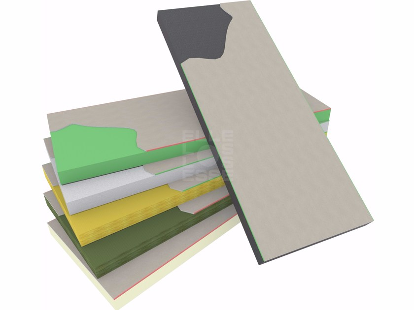 Thermal insulation panel BLUGIPS - ELLE ESSE