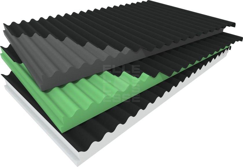 Thermal insulation panel BLUONDA COPPO - ELLE ESSE