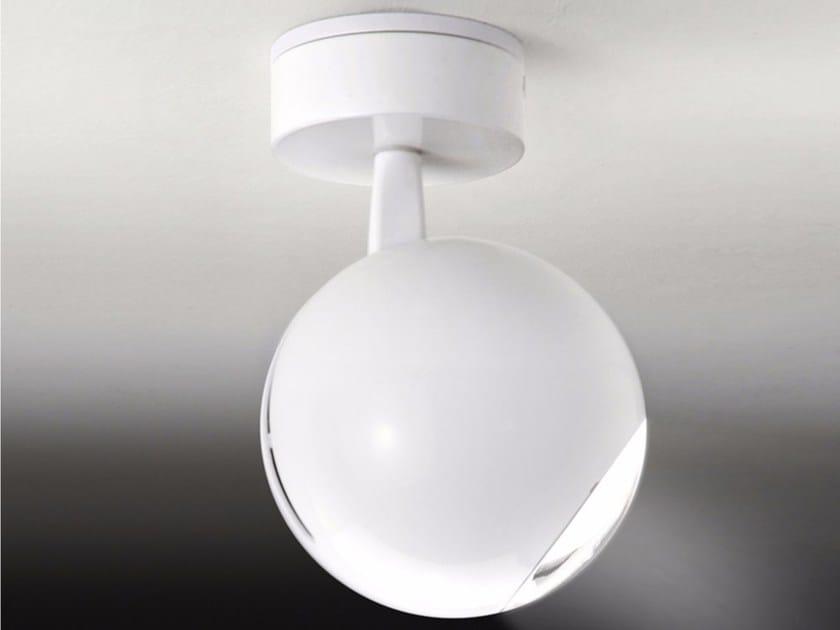 LED adjustable ABS spotlight with fixed arm BO-LA 6546 | Ceiling spotlight - Milan Iluminación