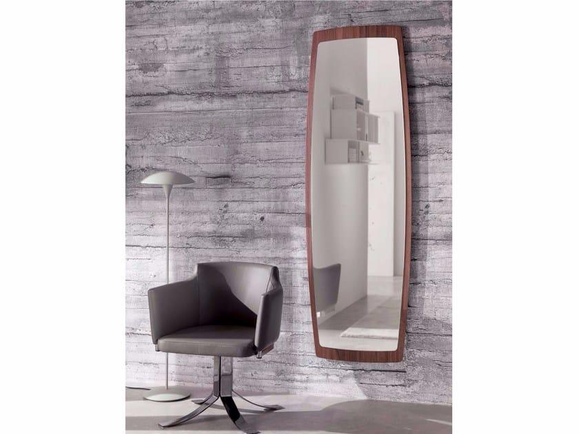 Wall-mounted framed rectangular mirror BOAT | Rectangular mirror by Ozzio Italia