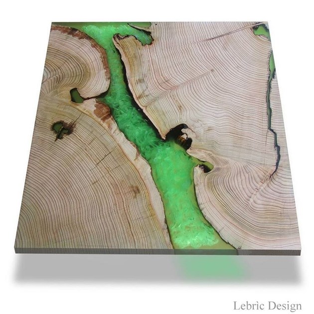 Table BOG OAK AND RESIN by ANTICO TRENTINO