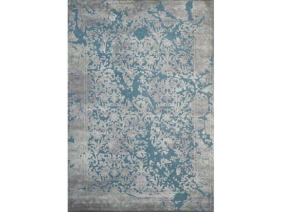 Rectangular viscose rug BOHÈME - Sirecom Tappeti