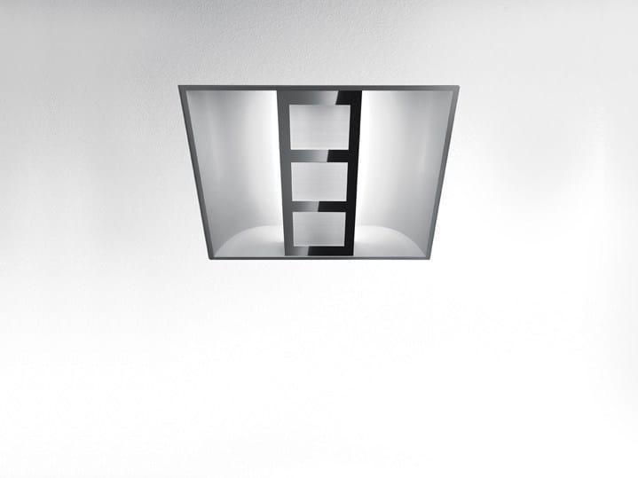 Direct light fluorescent built-in lamp for false ceiling BOLERO - Artemide