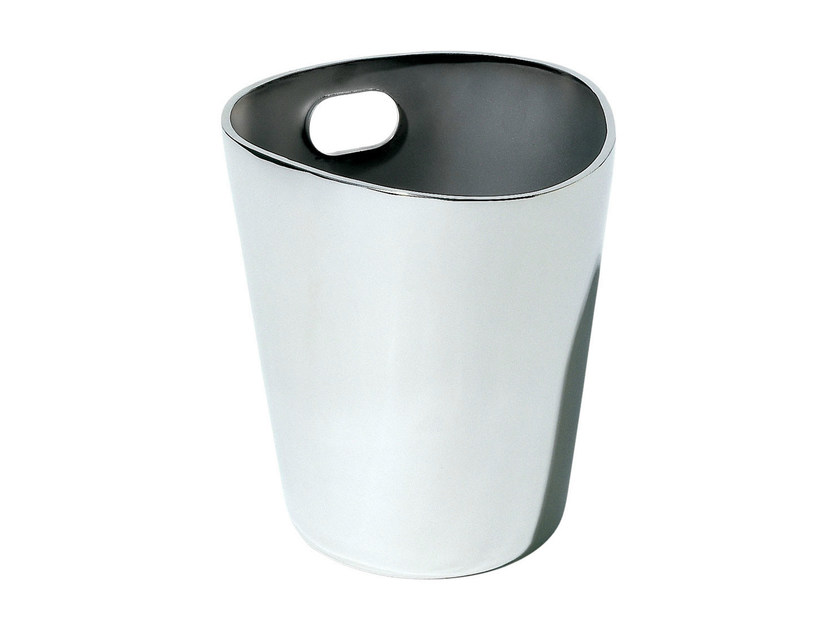Stainless steel ice bucket BOLLY by Alessi