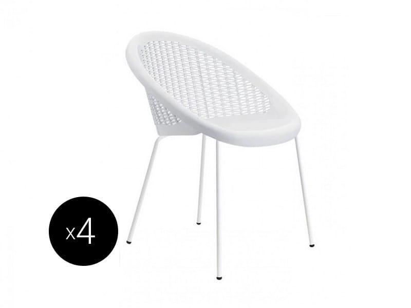 Stackable polypropylene chair BON BON | Stackable chair - SCAB DESIGN