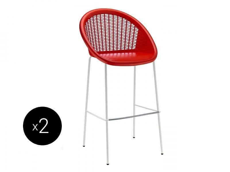 Contemporary style technopolymer stool BON BON | Technopolymer stool - SCAB DESIGN