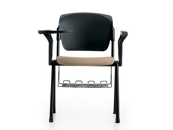 Training chair with armrests with writing tablet BONN | Training chair with writing tablet - D.M.