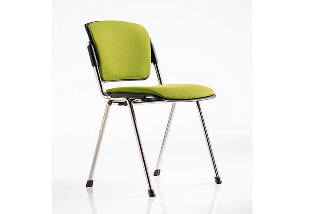 Fabric chair / training chair BONN | Stackable training chair by D.M.