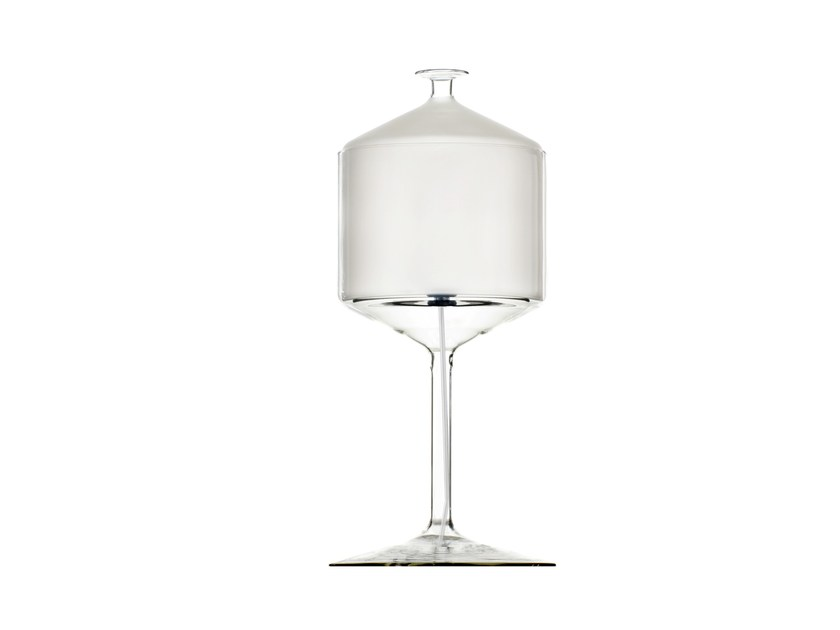 Blown glass table lamp BONNE NUIT 21 - Produzione Privata